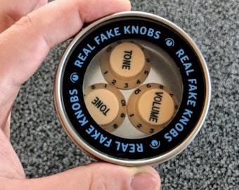 Real Fake Knobs S-type Cream - 3 Magnet Set
