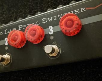 Real Fake Knobs G-type Red - 3 Magnet Set