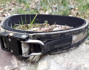 Tactical Belt- Multicam Cobra D-Ring - RICON TACTICAL