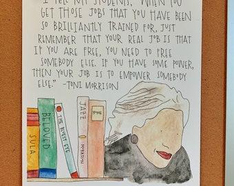 "Toni Morrison: ""Empower somebody else"""
