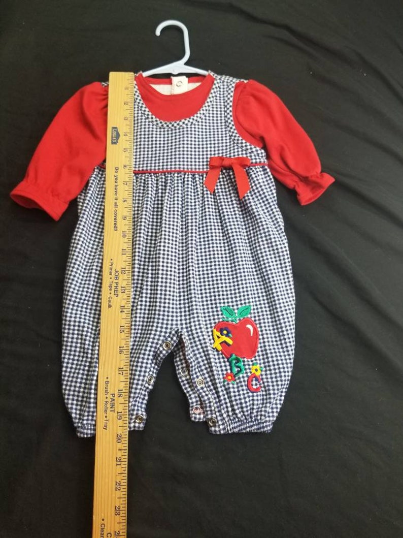 6 to 9 month abc outfit
