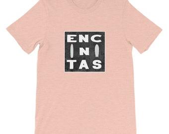 Encinitas California T-shirt, Encinitas Surfboard tshirt, creative surfing tee, Short-Sleeve Unisex T-Shirt