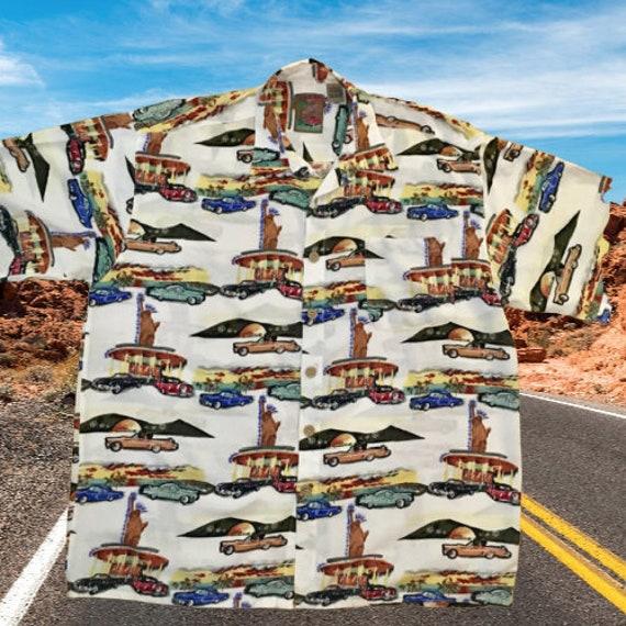 Next Originals Vintage Shirt Classic Cars Statue o