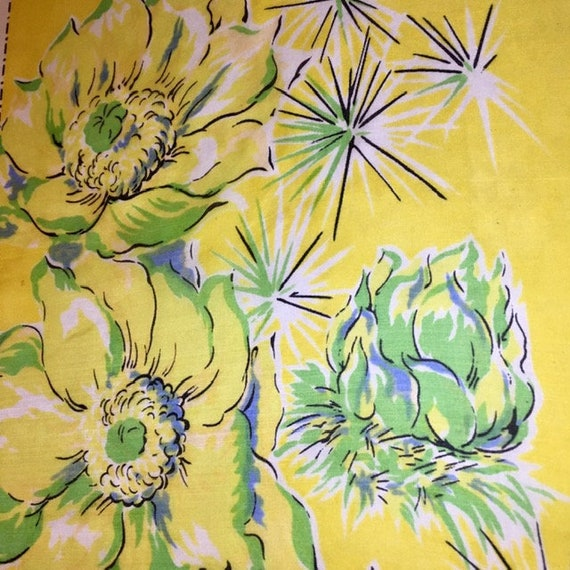 Arizona Souvenir Silk Scarf Vintage Large Colorfu… - image 5