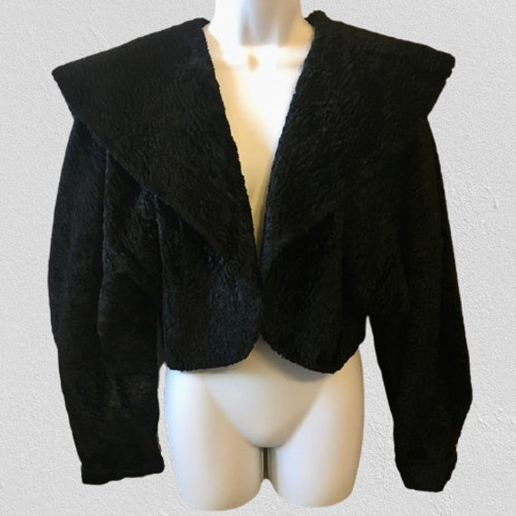 Barboglio Cristina Jan Cropped Jacket Bolero Black