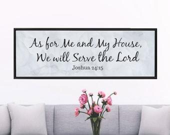 Framed Canvas, Grey Print,Wall Art,Home Decor,Christian Scripture,Bible Verse,Christian Wall Art,Scripture Wall Art,Christian Gift