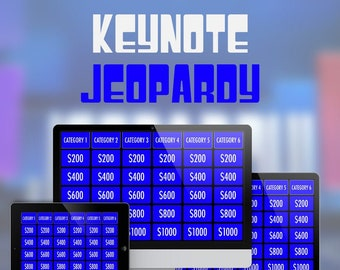 Keynote Jeopardy Template
