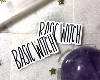 Basic Witch | Protected Sticker/Decal