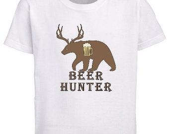c774592957a58 Beer hunter t shirt   Etsy