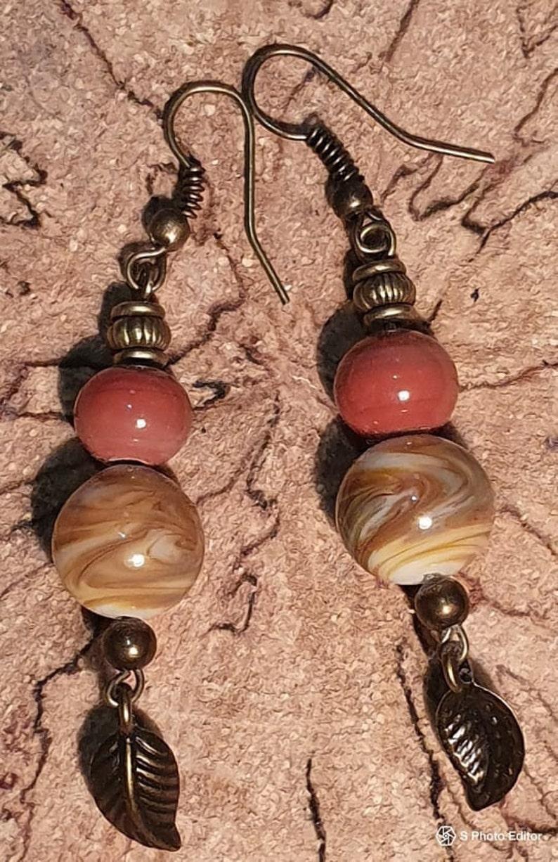 Earrings Glass Bead
