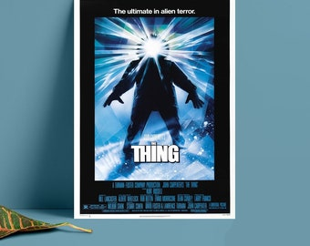"""1982 Classic Sci-fi Suspense Horror The Thing Movie Poster 18x12 36x24 40x27/"""""""