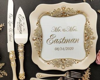 Wedding Cake Plate Etsy