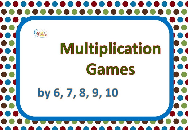 image relating to Printable Multiplication Game referred to as Math Worksheets, Printable 2nd Quality Multiplication Activity, 80 Web pages Math Curriculum
