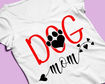 Dog Dad Svg Files For Cricut And Silhouette Dog Dad T Shirt Etsy