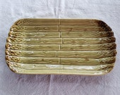 Vintage Bordallo Pinneiro Asparagus Serving Plsate Platter