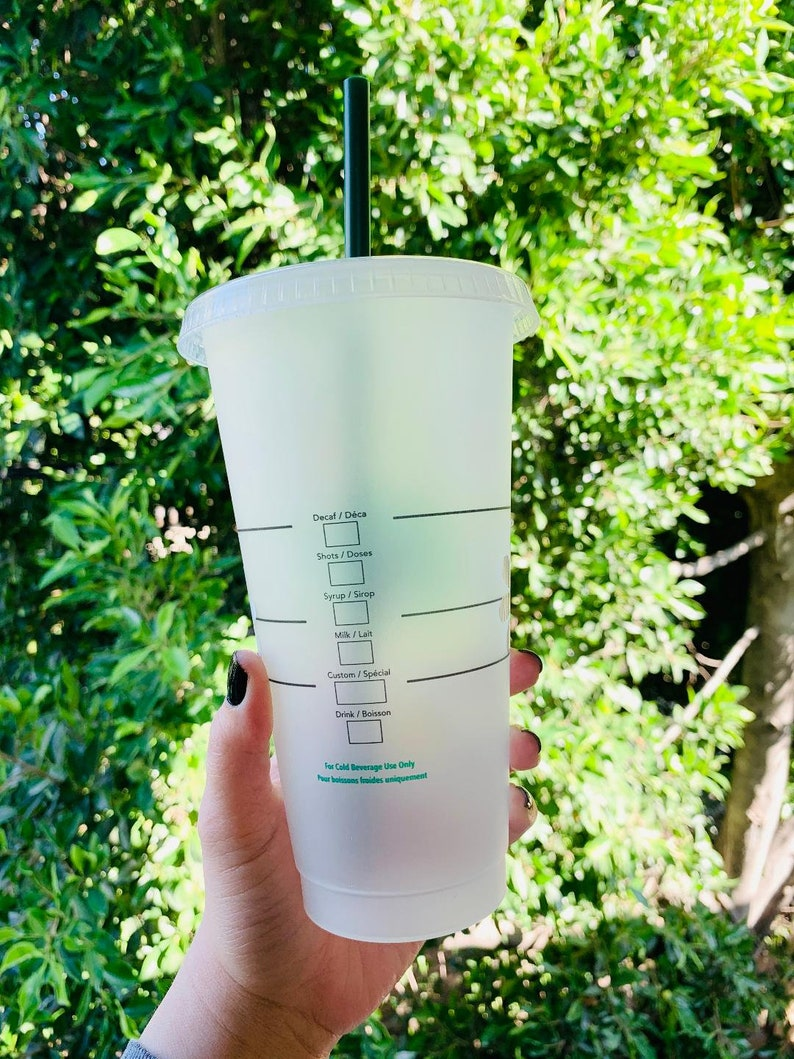 Butterfly Starbucks Cold Cup