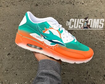 Miami dolphins shoes | Etsy