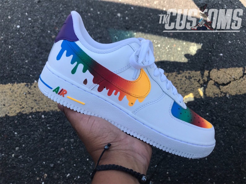 Details about Nike Air Force 1 Low Custom Drip all sizes