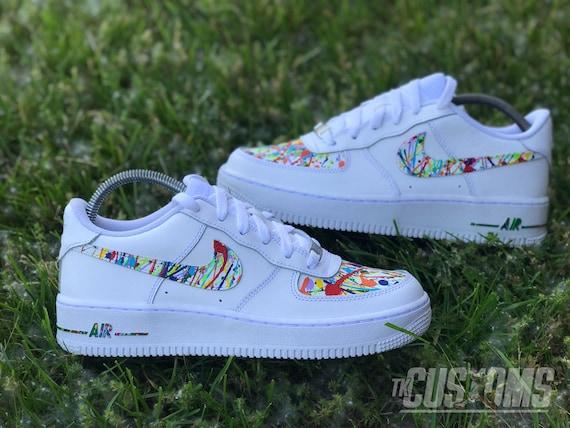 Nike Air Force 1 Custom Splatter