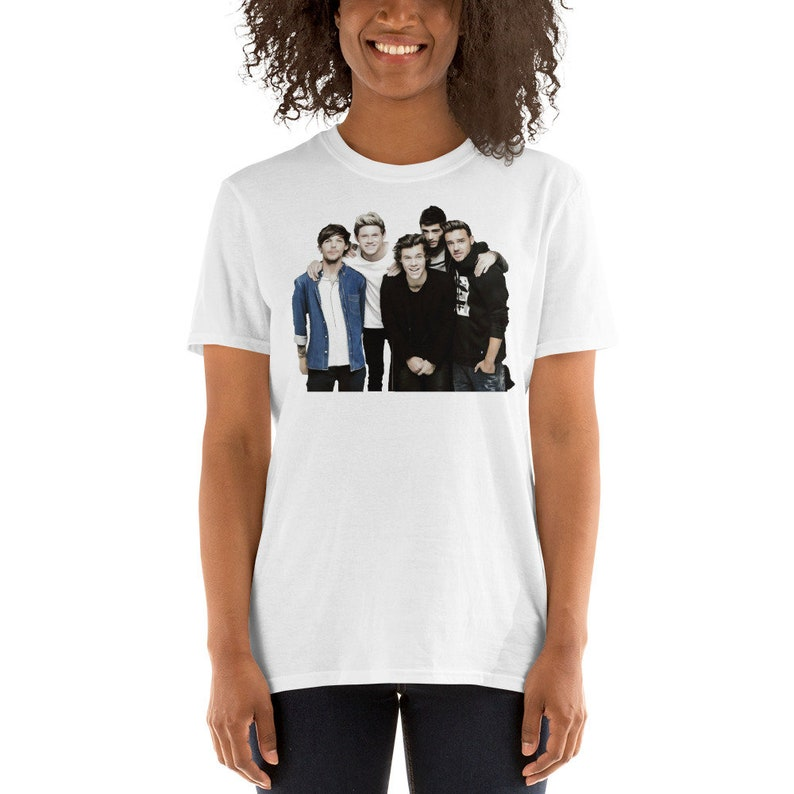 Inspired by One Direction T-Shirt One Direction shirt One Direction merch  One Direction Tee Cute Cartoon 100% cotton Short-Sleeve Unisex T-S