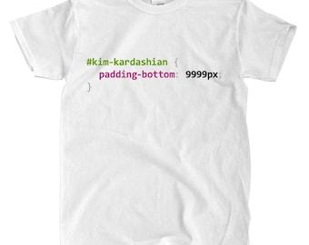 Kim kardashian shirt | Etsy