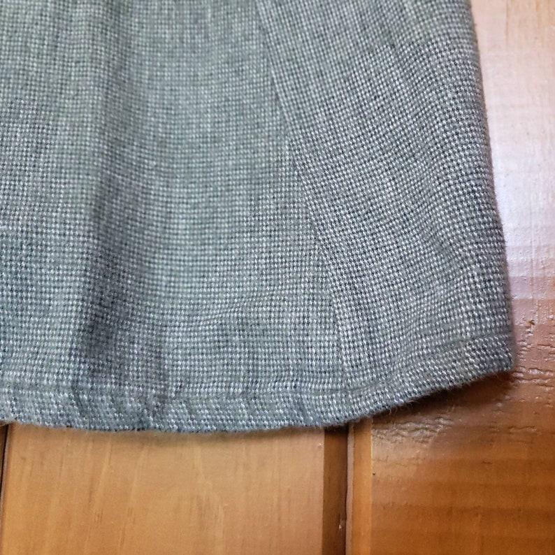 1970s handmade shift dress  vintage mini tank dress  1970s jumper