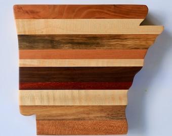 Arkansas-shaped Cutting Board