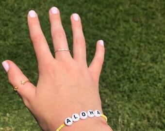 aloha vsco trendy bracelet