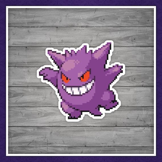 8-Bit Lucario Pokemon Decal//Sticker