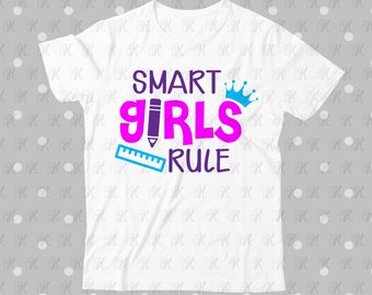 25+ Smart Girls Rule Cut File DXF