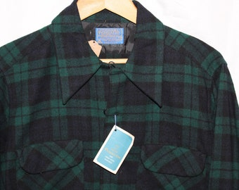 NWT Vintage Pendleton Wool Flannel Button Up
