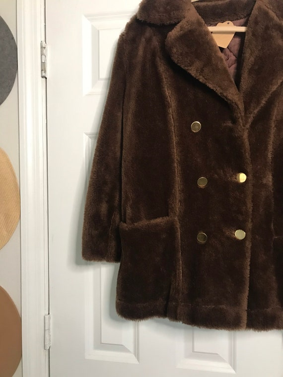Vintage 60s Faux Fur jacket