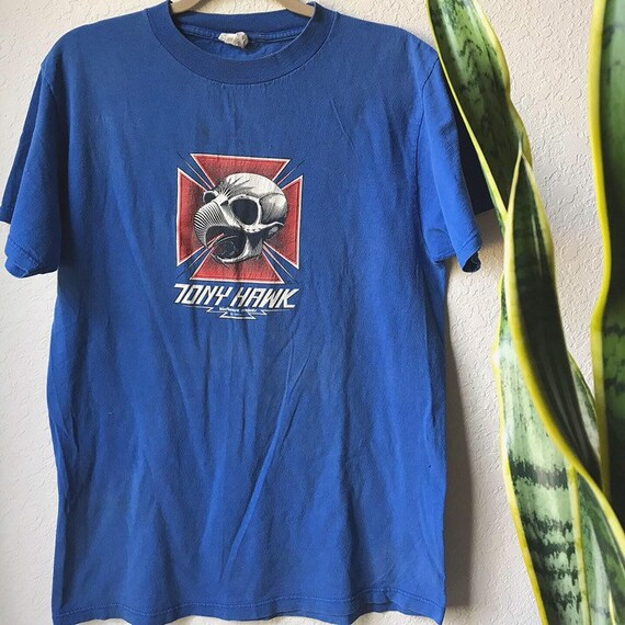 Vintage Tony Hawk graphic tee - image 1