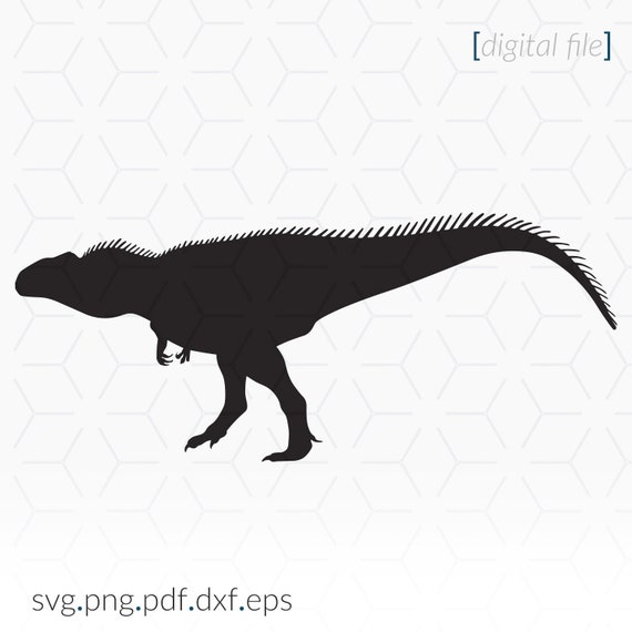 Gigantosaurus Svg File For Cricut And Cutting Machines Etsy