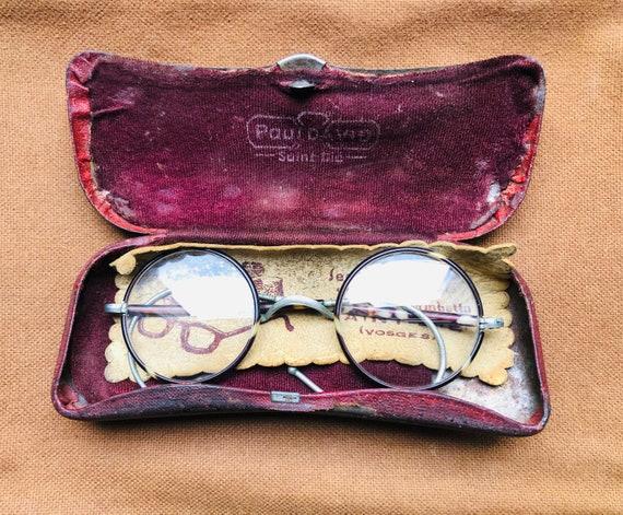 Superb 1920s French Round Eyeglasses