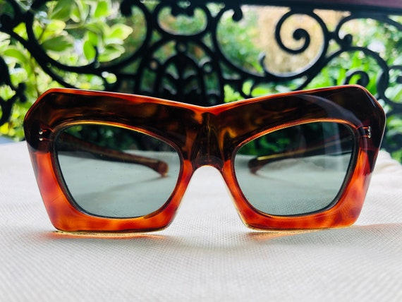 Incredible 1960s French Eyeglasses NOS