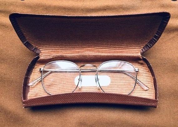 Fabulous 1960s Gold Panto - French Eyeglasses