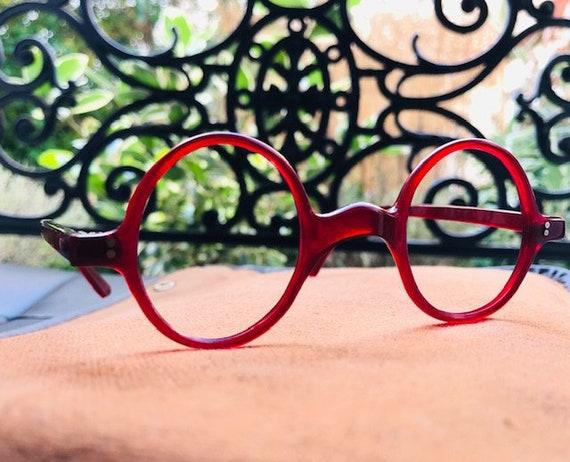 Fabulous 1940s French Round Eyeglasses