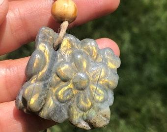 Carved Labradorite Stone