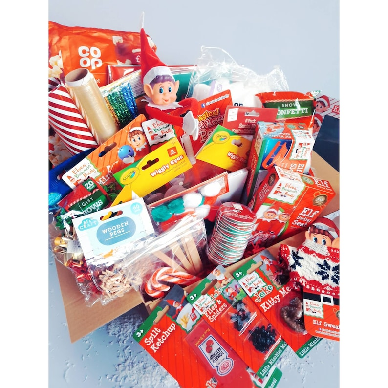 Elf Kit with Gingerbread House