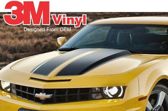 Camaro 2010-2014 Rally Racing Stripes Hood Trunk RS SS With Hickey Stripe.