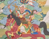 Gesar of Ling original hand painted Thangka