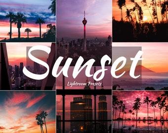 Sunset presets   Etsy