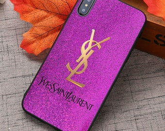 fe70256aa7e Luxury Cases Ysl iPhone XS Max / Ysl Samsung S10 Plus Case / Ysl iPhone XR,  XS, X, 8 Plus Cases / Ysl Samsung S10, S9+, Note 9 Cases