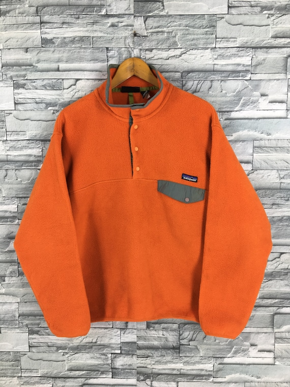 Vintage Patagonia Synchilla Fleece Sweater Zipper