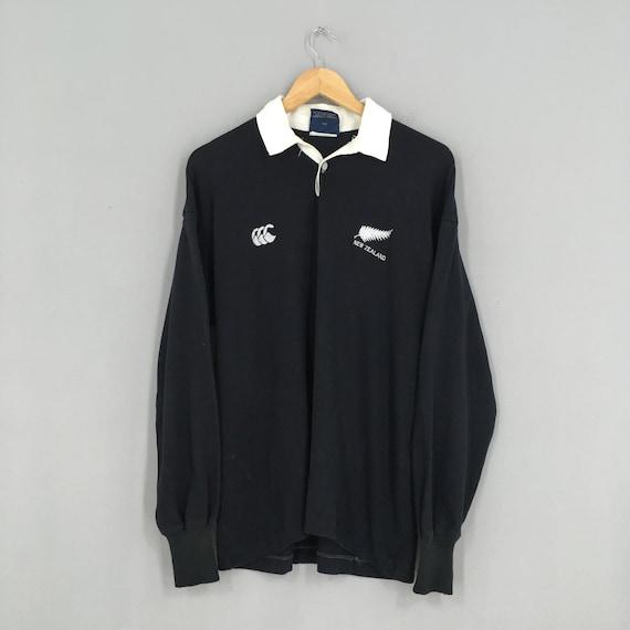 Canterbury Of New Zealand Rugby Polo Shirt Medium