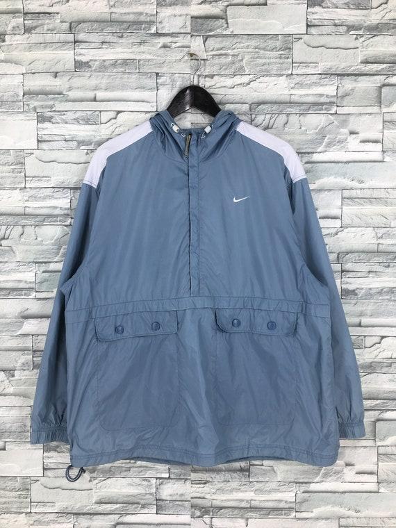 Vintage 90's Nike Windbreaker Anorak Jacket XLarge
