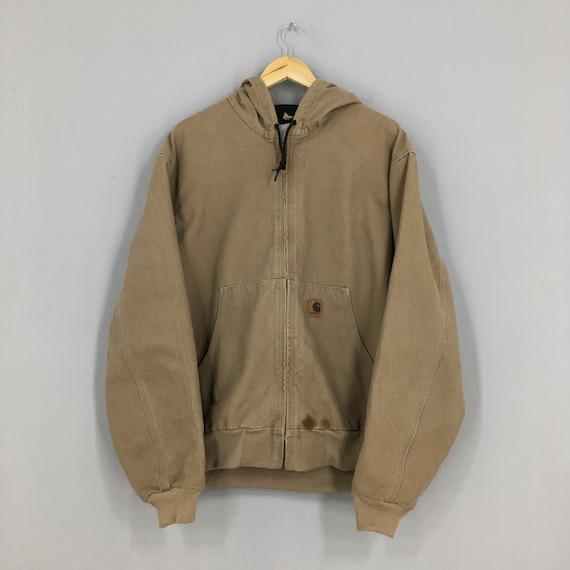 Carhartt Chore Hoodie Jacket Mens Large Vintage 90