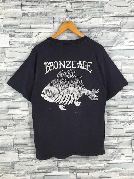 Vintage bronze age handkerchief