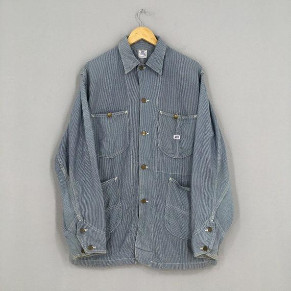 Vintage 1980's LEE Sanforized Denim Worker Jacket